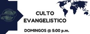 DOMINGO P.M| CULTO EVANGELISTICO