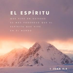 1 Juan 4:4